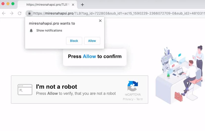 delete Miresnahapsi.pro ads