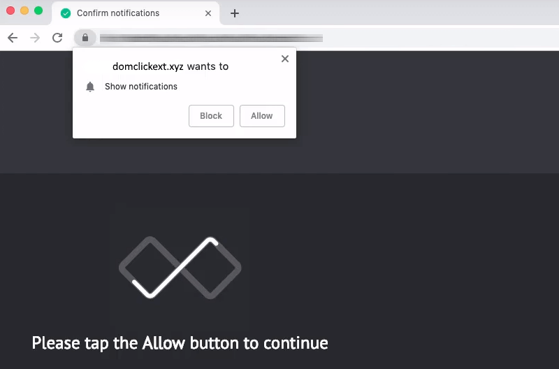 delete Domclickext.xyz ads