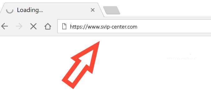 Svip-Center.com redirect