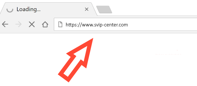 Svip-Center.com redirect
