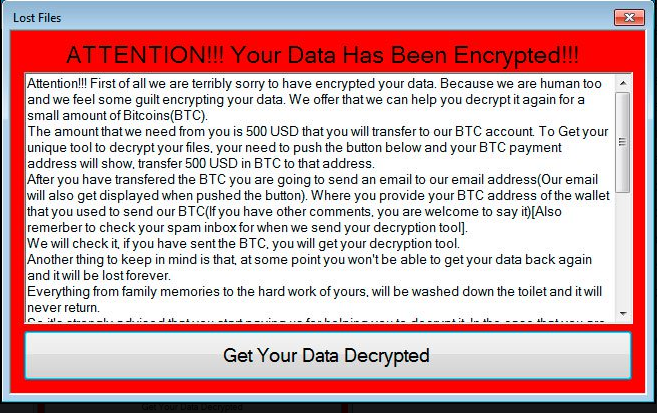 remove Lost_Files Ransomware