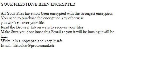 remove ChernoLocker Ransomware