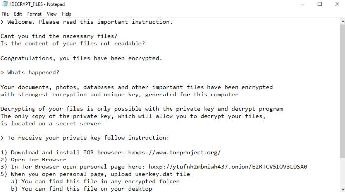 remove Rapid Ransomware