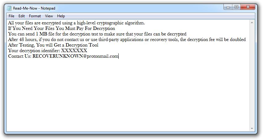 remove Zeropadypt NextGen Ransomware