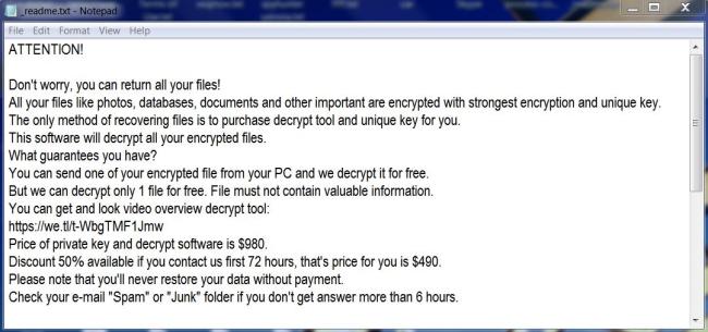 remove Kodc ransomware