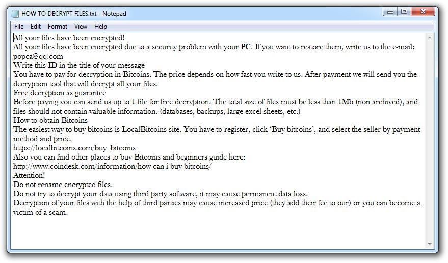 remove LOCKEDS Ransomware