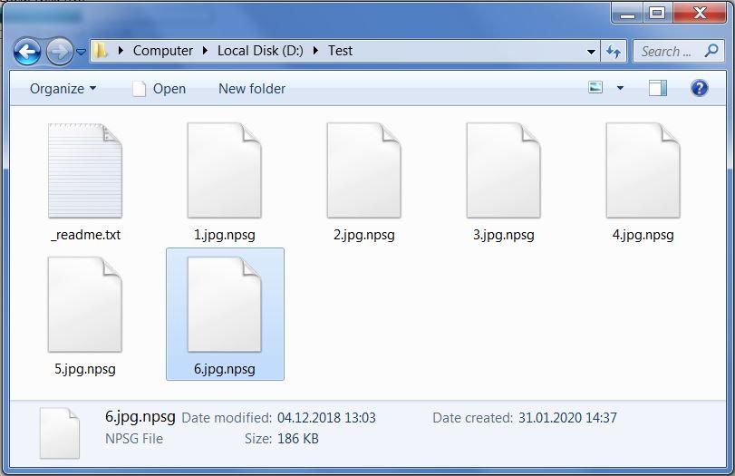 remove Npsg ransomware