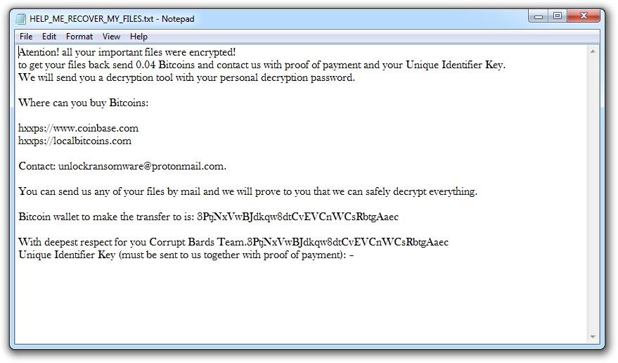 remove Quimera Ransomware