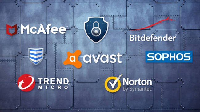 top 5 antivirus software for windows