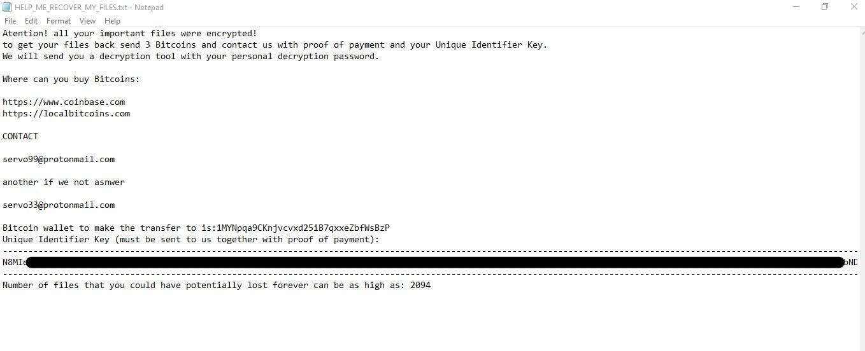 remove BSJB ransomware