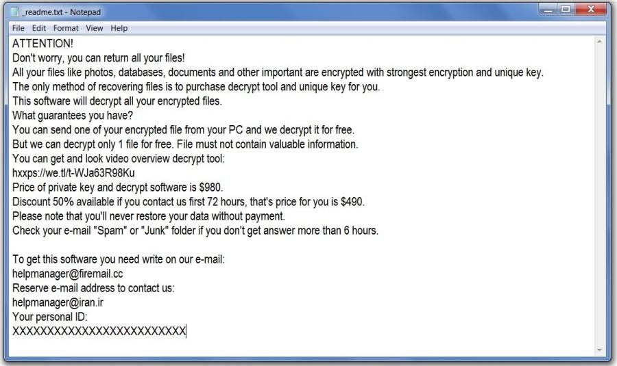 remove Mool ransomware