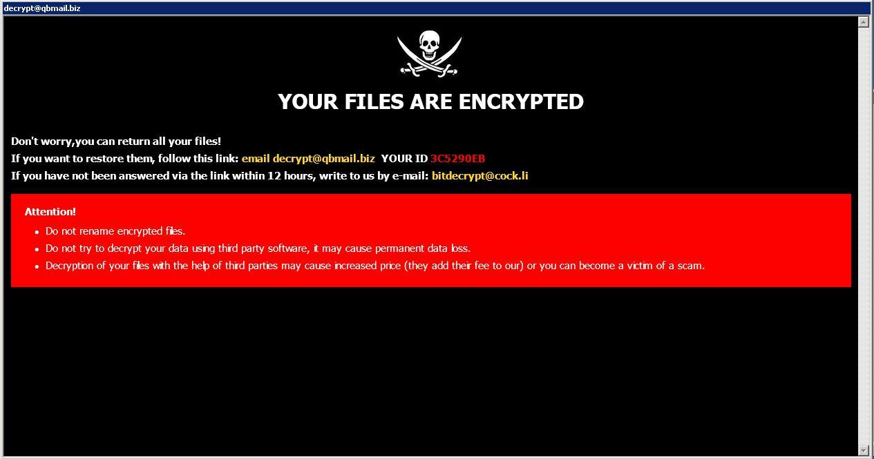 remove PLEX ransomware