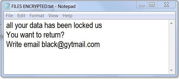 fjern Selv ransomware