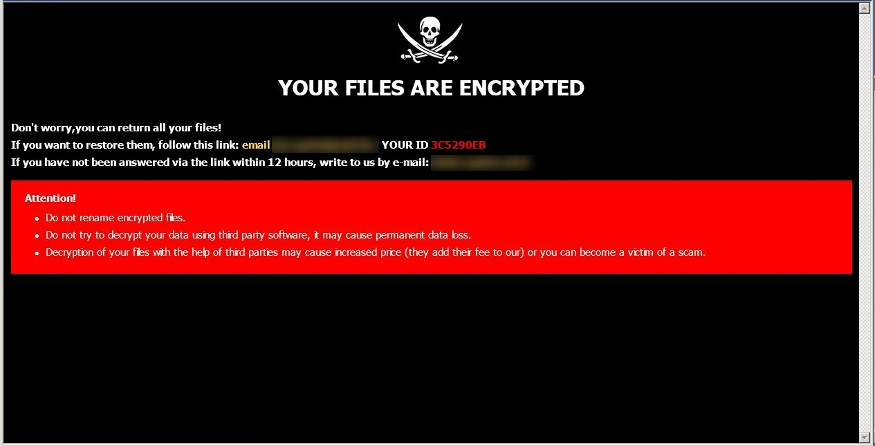 remove Space ransomware