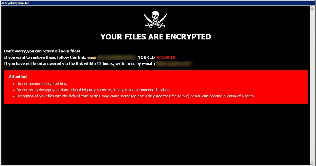 remove Mark ransomware
