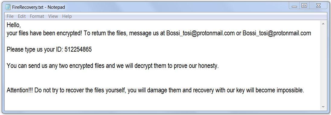 remove .google ransomware