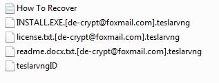 remove Teslarvng ransomware