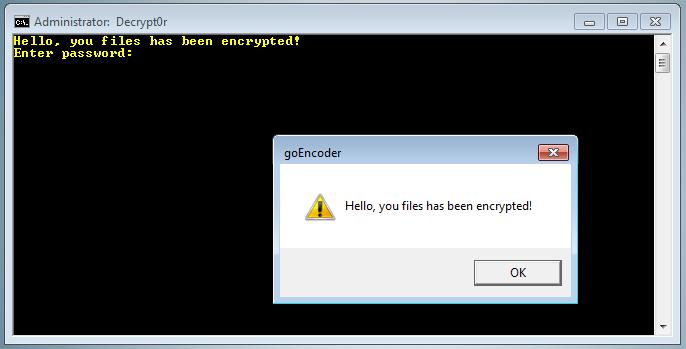 remove CryptoGoLocker ransomware