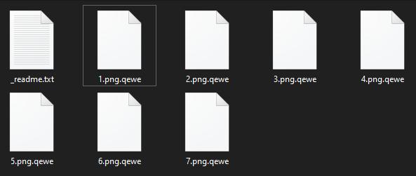 remove Qewe ransomware
