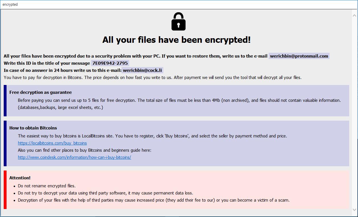 remove Revon ransomware