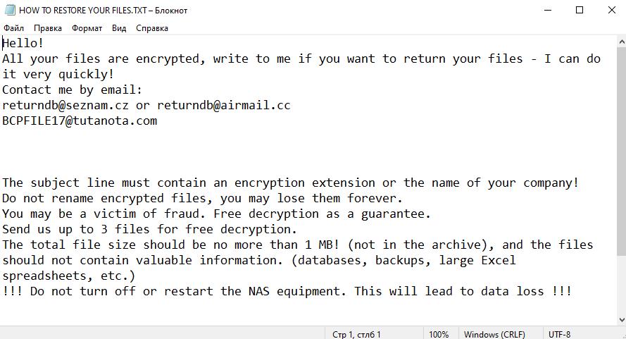 fjerne Snatch ransomware