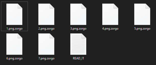 remove Zorgo ransomware