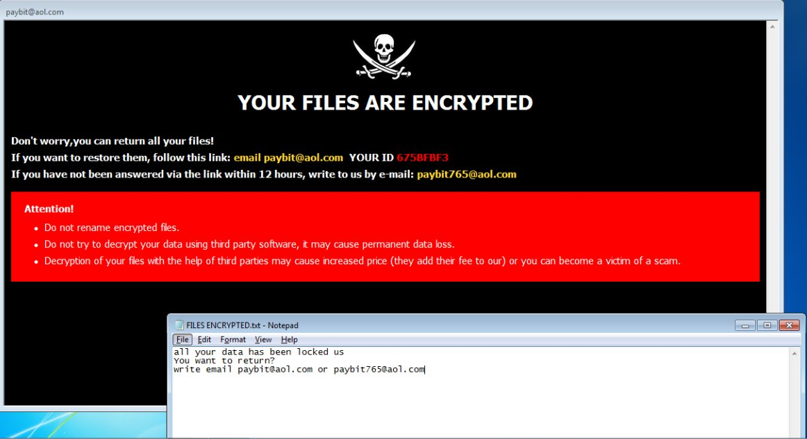 remove PayB ransomware