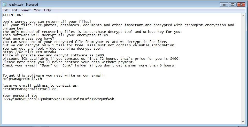 remove Pezi ransomware