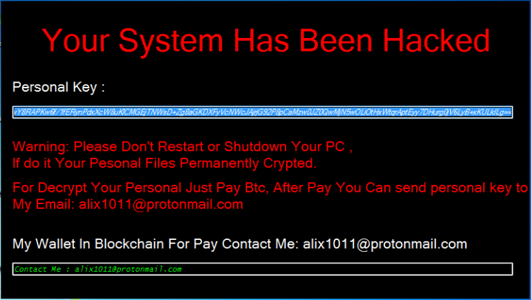 remove Badboy ransomware