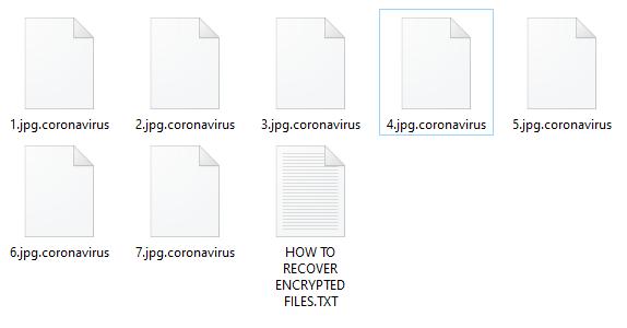 remove Coronavirus ransomware