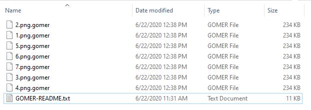 remove Gomer ransomware