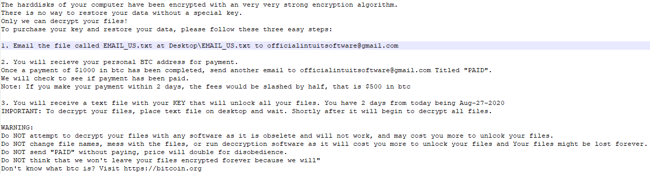 eliminați Cyrat Ransomware