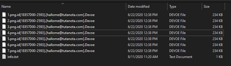 Девоирайте криптирани файлове