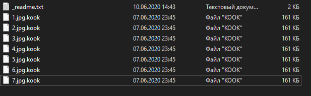 fjern Kook ransomware