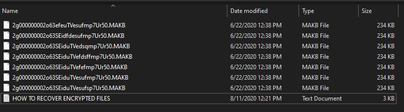 verwijder MAKB ransomware