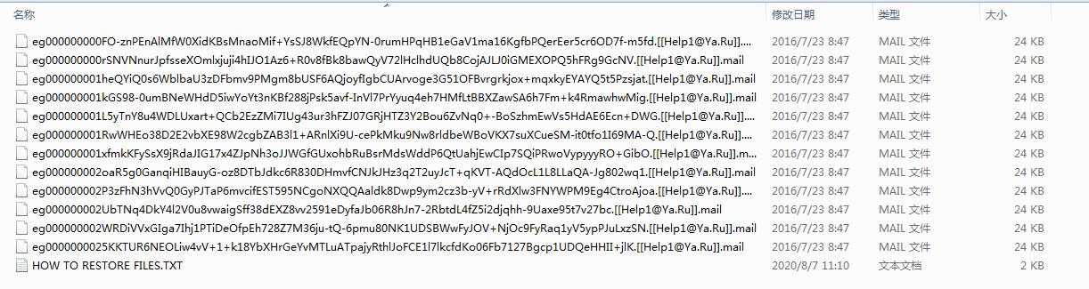 Entfernen Sie Mail Ransomware