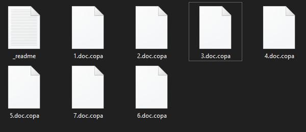 remove Copa ransomware