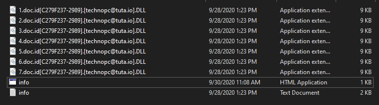 Dll encrypted files