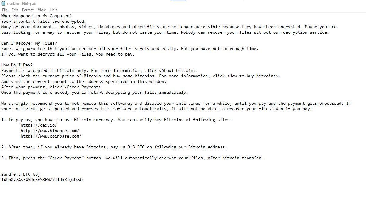 remove Zhen ransomware