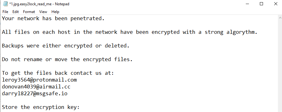 remove Easy2lock ransomware