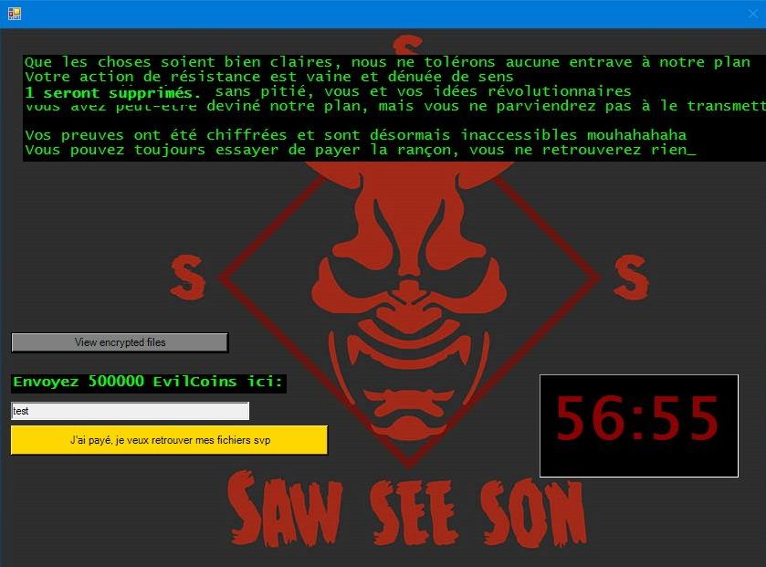 remove Evil ransomware