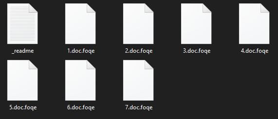 remove Foqe ransomware