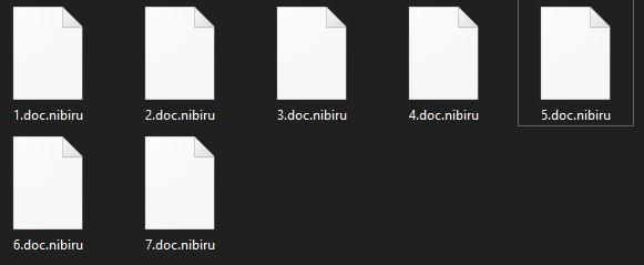 remove Nibiru ransomware