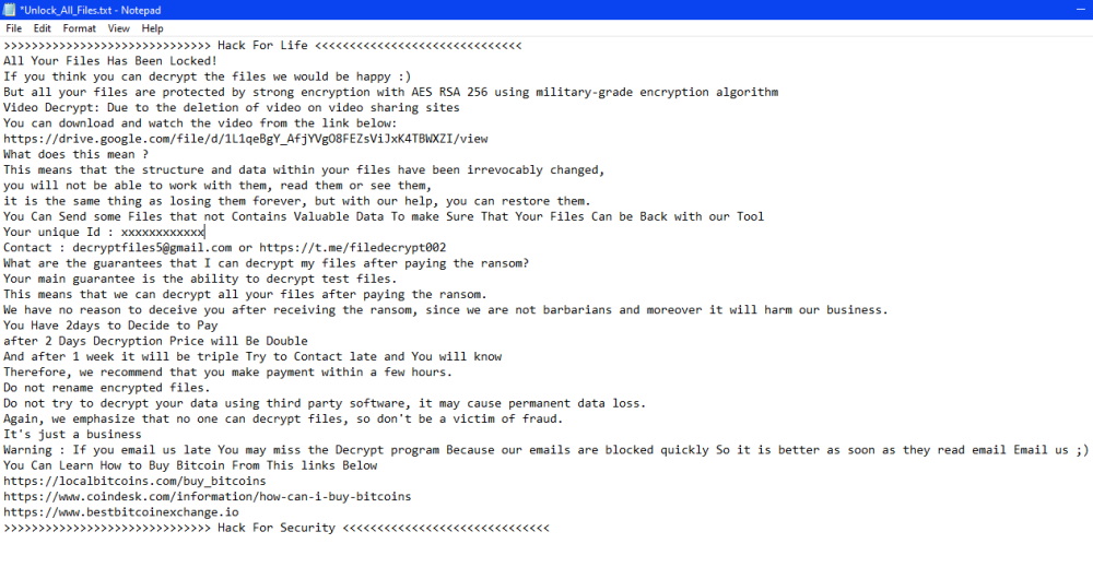 remove VashSorena ransomware