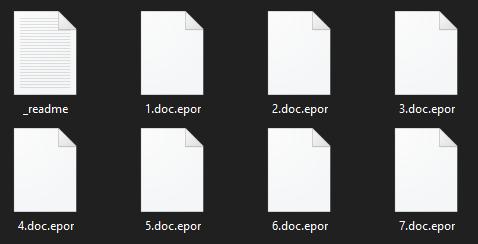 remove Epor ransomware
