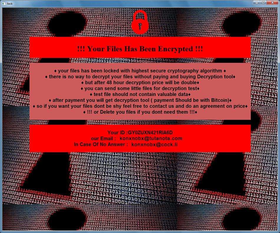 remove Konx ransomware