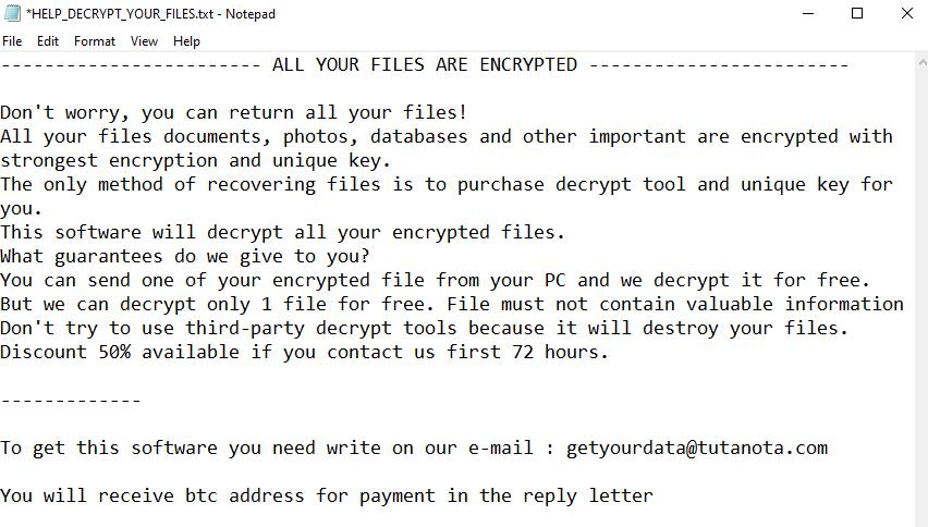 remove Lola ransomware