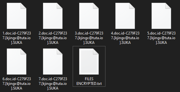 SUKA encrypted files