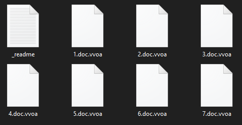 remove Vvoa ransomware