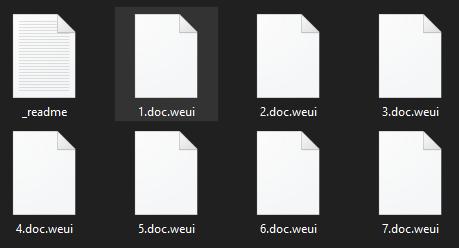 remove Weui ransomware